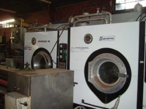 Degreasing Suprema 60 kg x2 with distiller
