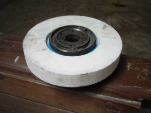 Grinding wheel and stone